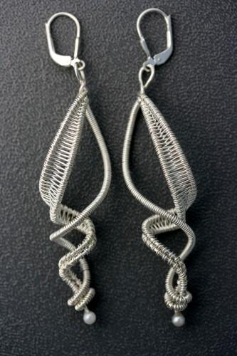 ds wire wrap earrings