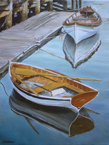 dinghies-elizabeth-r-whelan-painting